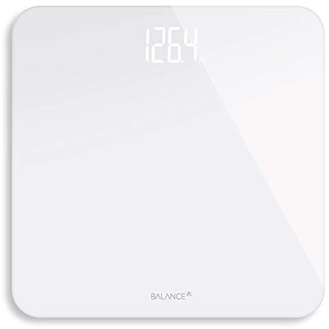 Digital Body Weight Bat Hroom Scale From Greater Goods (White), Scale Helps Charity Love146 Fight Hum