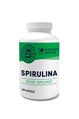 Vimergy USA Grown Spirulina Capsules (180 ct)