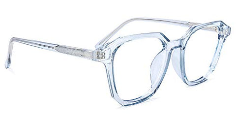 Zeelool Readers TR90 Square Reading Glasses Eyewear for Men Women Preston ZOT235163