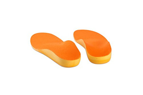 Orthotics Premium Medical Grade Insole for Children with Heel and Arch Problems (24CM Big Kids5.5-6)