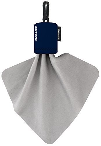 Spudz Classic | Microfiber Cloth Screen Cleaner And Lens Cleaner | Navy Blue | 6 X 6 Inches