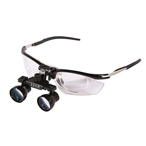 Aries Outlets 3.5X Dental Medical Binocular Loupes Magnifier Antifogging Aluminum Frame