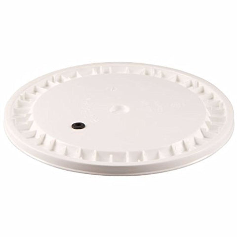Drilled Plastic lid for 6.5 gallon fermentors