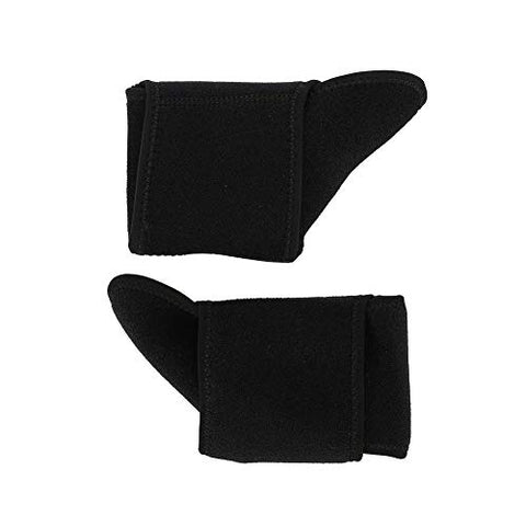 Ankle Brace - MAGT 2Pcs High-Quality Ankle Support Warm Ankle Brace Absorbing Sweat Ankle Guard Sprain Injury Wrap Elastic Stabilizers for Sport