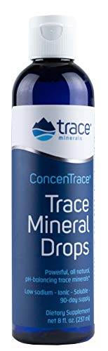 Trace Minerals Research   Concentrace Trace Mineral Drops, 8 Fl Oz Liquid, Packaging May Vary