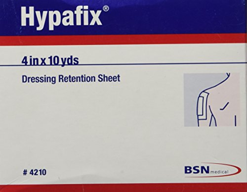 "Hypafix Dressing Retention Tape 4"" x 10 Yards, 1 Roll"