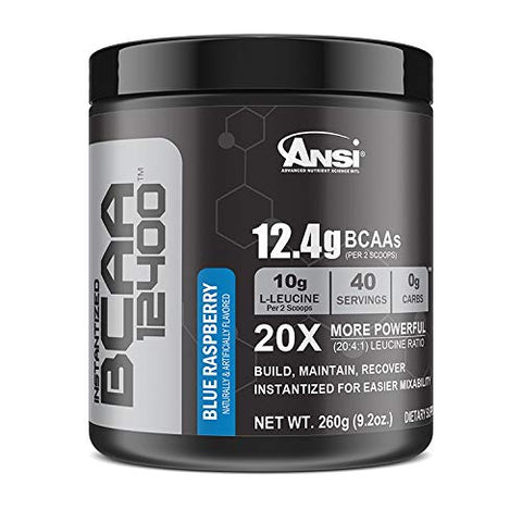 Ansi Bcaa 12400 - Blue Raspberry - 260g, 9.2 oz