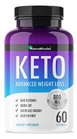 Keto Diet Advanced Weight Management By Natura Miracles/Qflâ?¢  800 Mg   Advanced Weight Management K