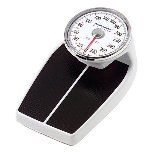 Health o meter Large Raised Dial Scale, Black