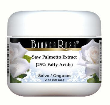 Saw Palmetto Extract (25% Fatty Acids) - Salve Ointment (2 oz, ZIN: 514321)