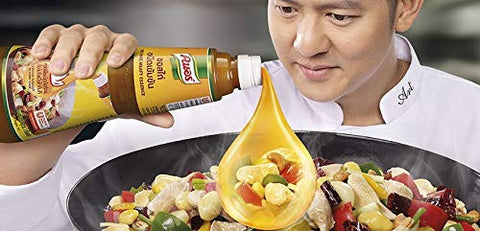Knorr Concentrated Chicken Sauce 1 kg. Produced from water extracted from chicken 9.8% easy to melt