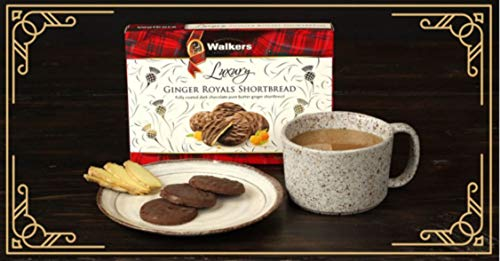 Walkers Shortbread Ginger Royals, 5.3 Ounce (Pack of 12)