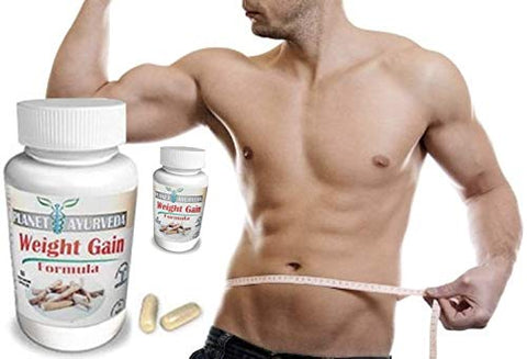 1, 2, 3 or 4 Pack. GAIN Mass Men 60 Tablets. Planet Ayurveda Weight Gain. Mass Gainer Formula Gain Weight Men. Gain Mass Quickly Pills to gain Weight for Men. Gain True Mass Easily (2 Bottle Pack)