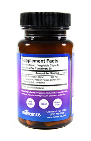 RediNite - Clinically-Proven Natural Sleep Aid Supplement - Non-GMO, Vegan, Gluten-Free