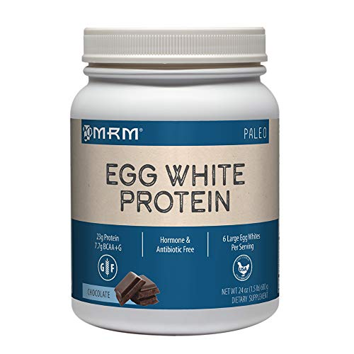 MRM Natural Egg White Protein Powder - Chocolate - 24oz