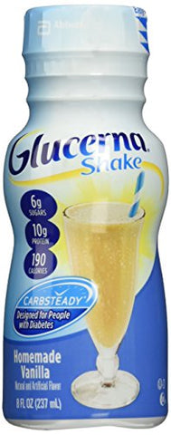 Glucerna Shake Vanilla 6Pk/8 Fl Oz Bottles - 1 Case Of 24