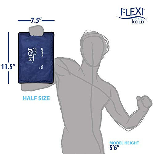 "FlexiKold Gel Ice Pack (Half Size: 7.5"" x 11.5"") - A6303-COLD - Professional Cold Pack"