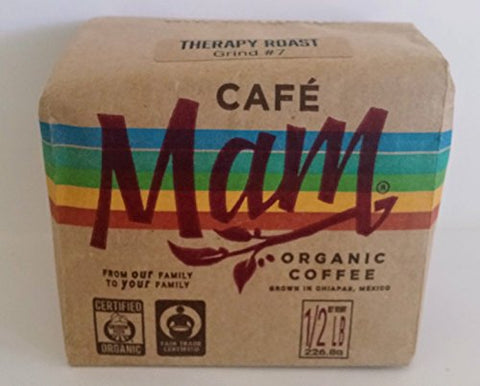 Cafe Mam (.5 LBS) Organic Therapy Enema Coffee. THE ONLY ENEMA COFFEE recommended by Gerson Institute.