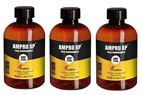 Ampro XP-Energy and Vitality and Immune System Booster (1 Bottle, 120 ml)