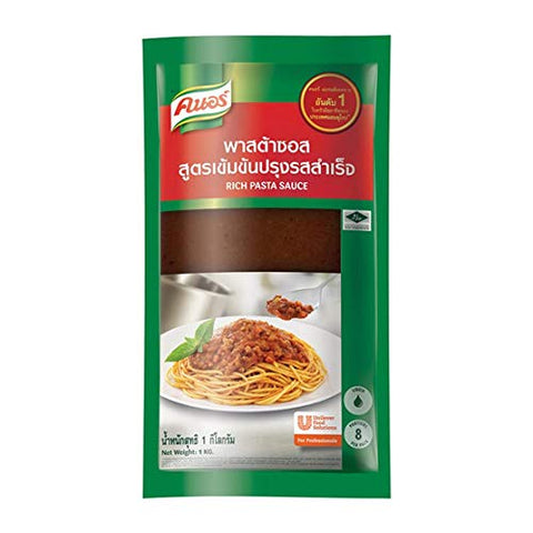 K-norr Selection Pasta 1 kg. Concentrated flavored sauce