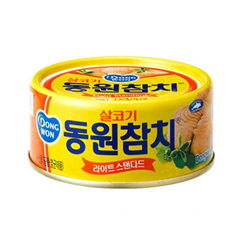 [ 8 Packs ] Dongwon Light Standard Tuna ????????? 138g