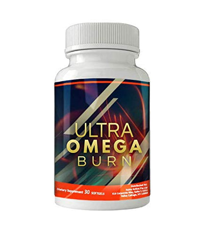 Ultra Omega Burn : New & Improved Formula aids in Weight Loss Efforts for Men and Women