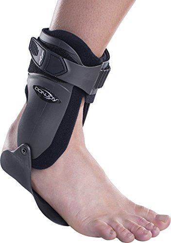 DonJoy Velocity LS (Light Support) Ankle Brace: Wide Calf, Left Foot, Medium