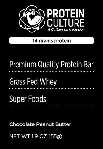 Organic Protein Brownie - Chocolate Peanut Butter (Box of 6 Brownies)
