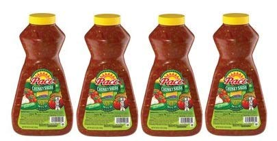 Pace Chunky Salsa, Mild, 64 oz. Jar (Pack of 4)