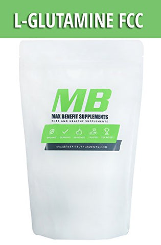 MaxBenefitSupplements L-Glutamine Supplement, 2.2 Pound