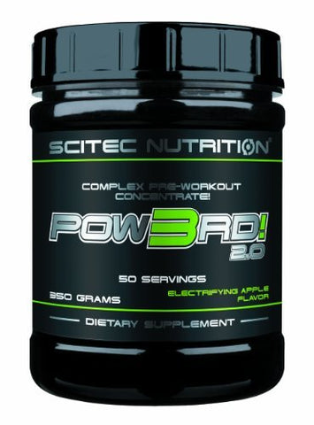 Scitec Nutrition Pow3rd 2.0 - Electrifying Apple by Scitec Nutrition