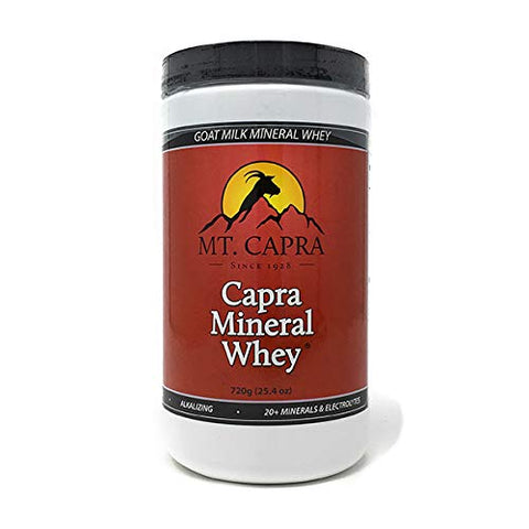 Mt. Capra Since 1928 Capra Mineral Whey | A Whole Food, Bio Available Mineral/Electrolyte Supplement