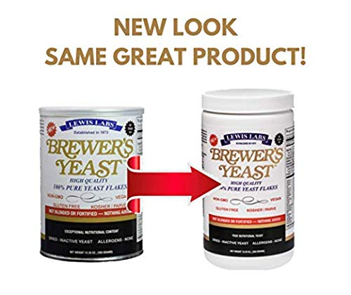 Lewis Labs Brewer's Yeast Flakes Powder (2 Pack)