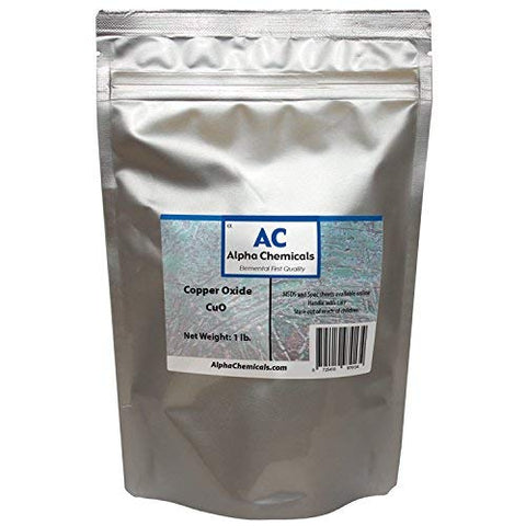 Black Copper Oxide - Cupric Oxide - CuO - 1 Pound
