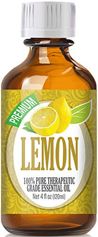 Lemon Essential Oil - 100% Pure Therapeutic Grade Lemon Oil - 120ml