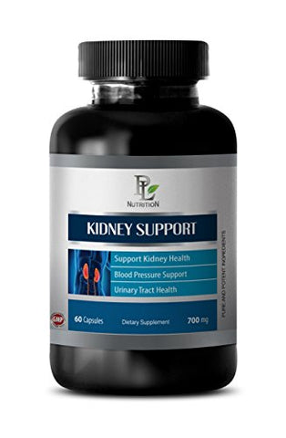 Energy Booster for Women - Kidney Support Complex - Kidney Supplements for Men - 1 Bottle 60 Capsules