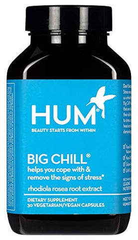 Hum Nutrition - Big Chill - Support Calm with 500mg Rhodiola Rosea (30 Vegan Capsules)