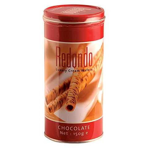 Redondo, Cream Wafers, Chocolate Flavour, 150 g [Pack of 2 pieces]