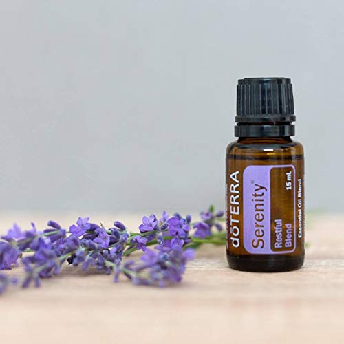 doTERRA Serenity Essential Oil Restful Blend 15 Milliliter (Pack of 2)