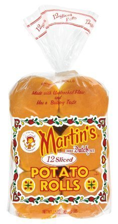 Martin's 12 Sliced Potato Rolls - Pack of 3 by Martin's