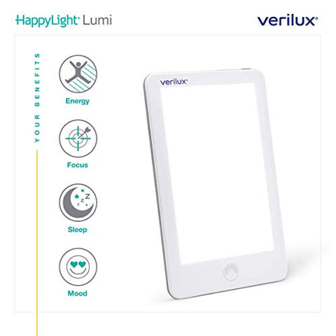 Verilux Happy Lightâ® Vt31 Lumi 10,000 Lux Led Bright White Light Therapy Lamp With Adjustable Bright