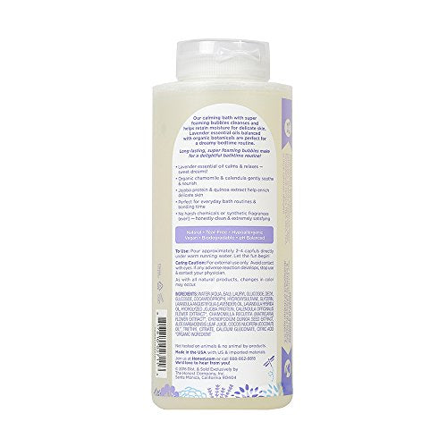 The Honest Company Truly Calming Lavender Bubble Bath Tear Free Kids Bubble Bath Naturally Derived I