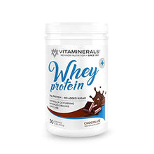 Vitaminerals 404 Whey Protein Complex Chocolate Flavor 30 Serving 24 Grams Protein per Serving Enhanced with BCAAs No Sugar, Low Carb, Low Fat