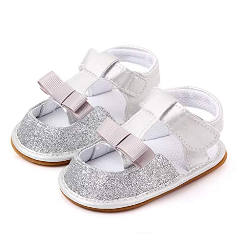 Baby Boys/Girls Summer Breathable Closed-Toe Sandals Toddler First Walker Shoes Soft Sole Anti-Slip Shoes
