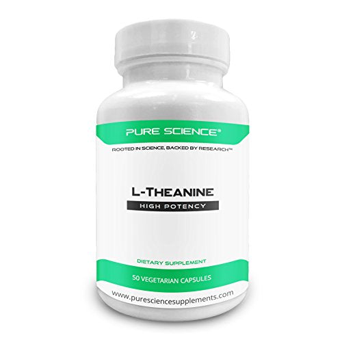 Pure Science L Theanine Supplement 400 Mg â?? Supports Cognition, Improves Mental Performance And Ca