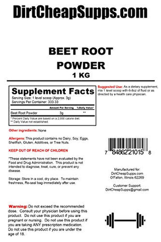 DirtCheapSupps Beet Powder 1kg