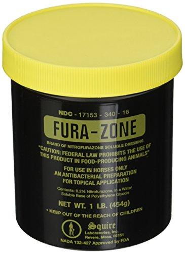 Squire Fura-Zone Ointment by Durvet 1 Pound