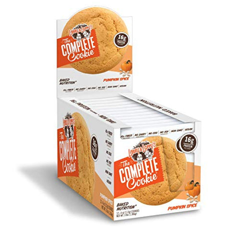 Lenny & Larry's The Complete Cookie, Pumpkin Spice, 4 Oz (Pack Of 12) Soft Baked