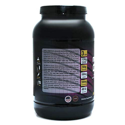 Mass Gainer Powder Chocolate Flavor by Capital Power Plus