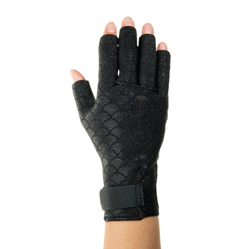 Thermoskin Premium Arthritic Gloves, Black, Large